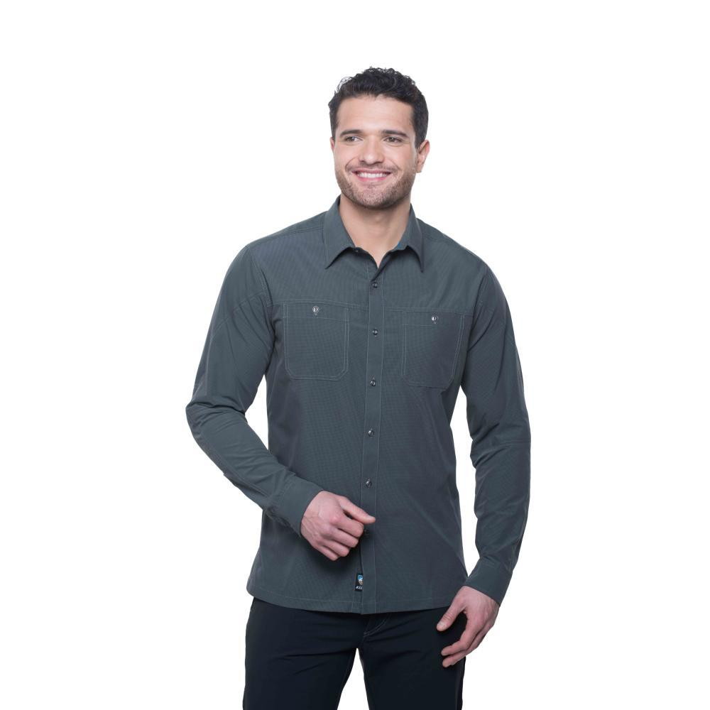 Kuhl Men's Bakbone LS Shirt CARBON