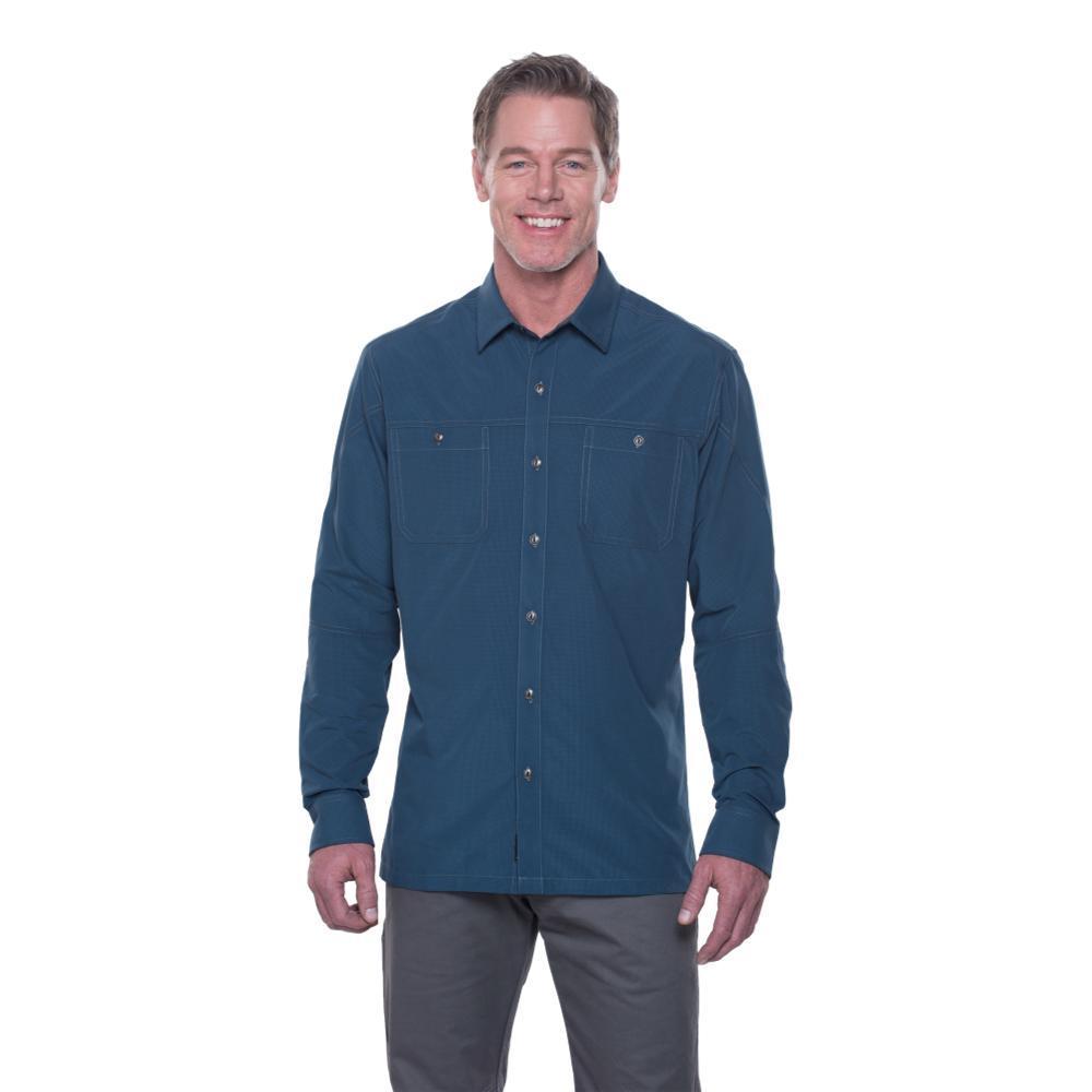 Kuhl Men's Bakbone LS Shirt MIDNIGHT