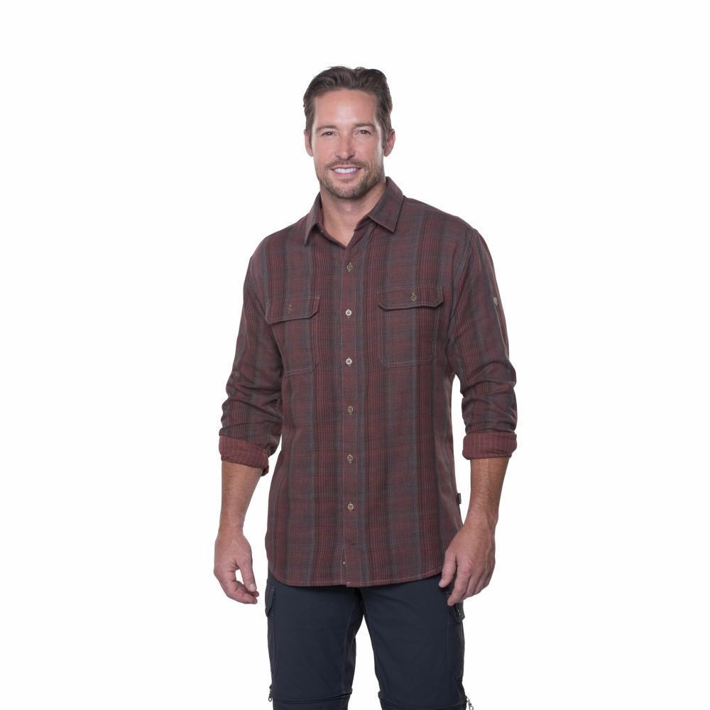 Kuhl Men's Shatterd Shirt RUSGREY