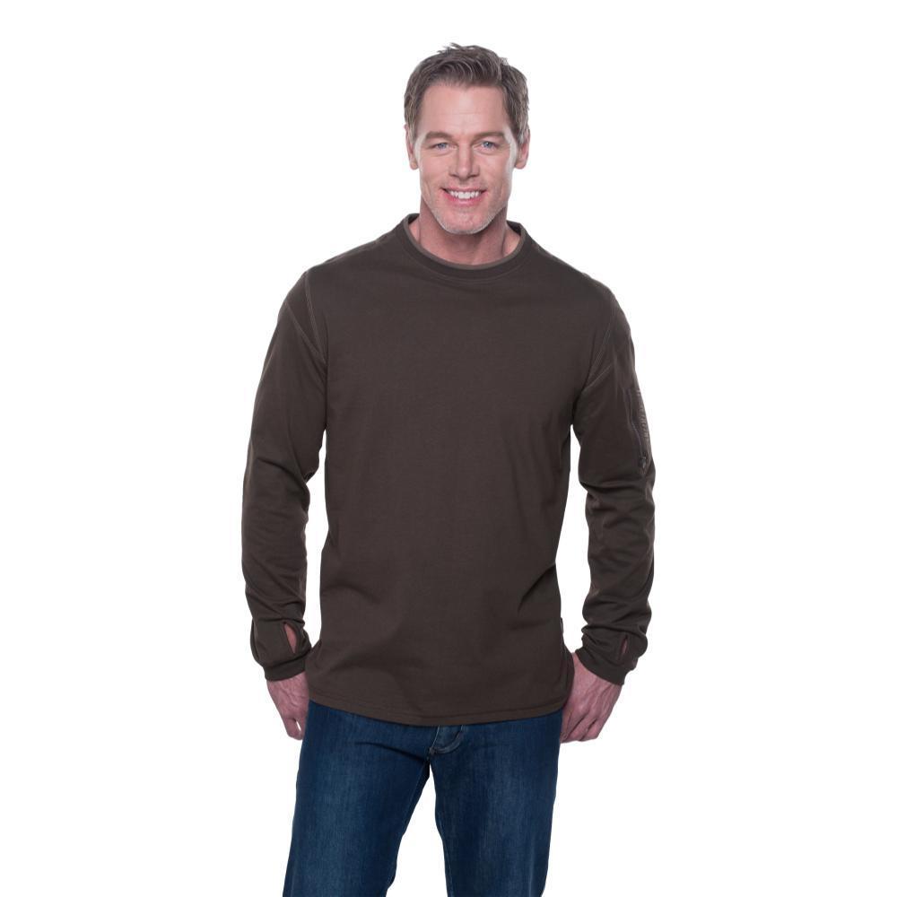 Kuhl Men's Kommando Crew Shirt ESPRESSO