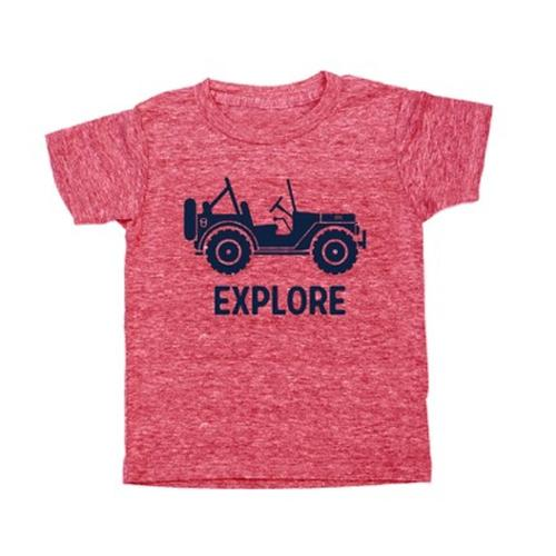 Locally Grown Kids Explore 4x4 Tee