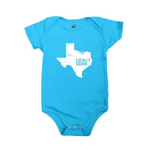 Locally Grown Infant Texas Solid State Onesie