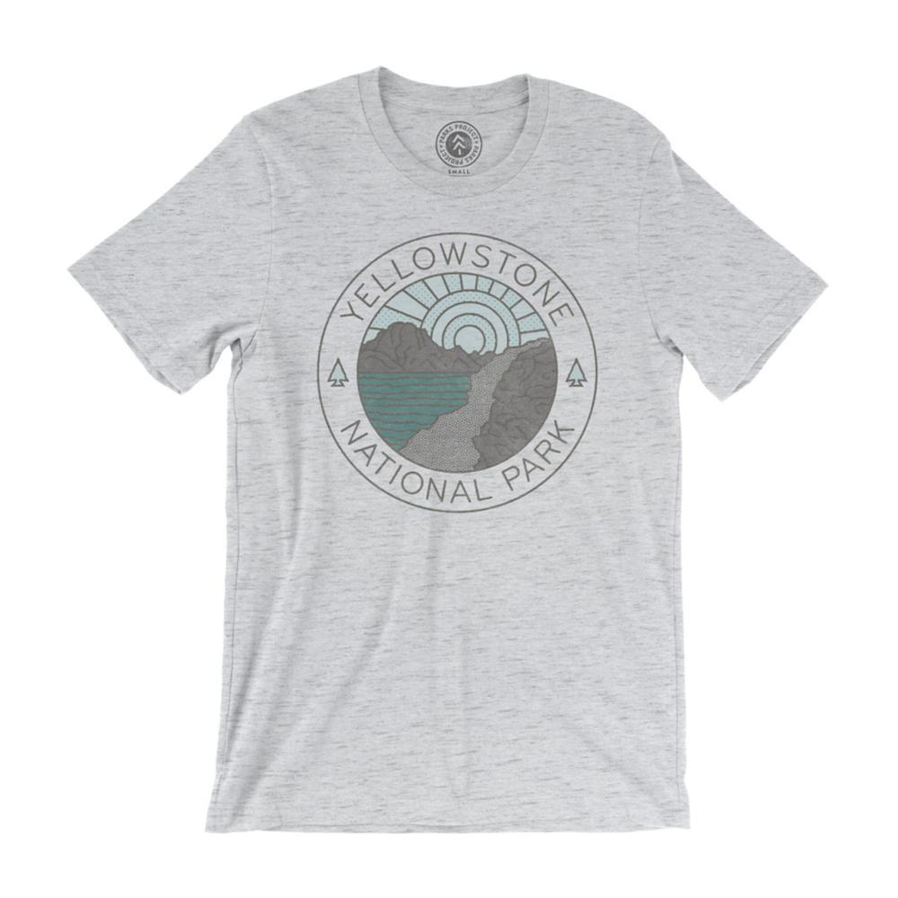Parks Project Unisex Yellowstone Lakeside Tee HEATHERGREY