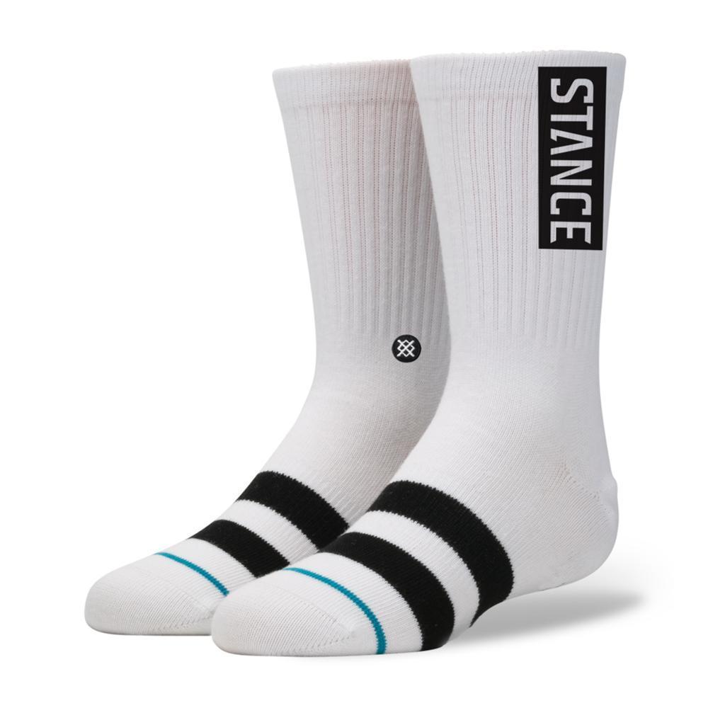 Stance Boys OG Socks WHITE