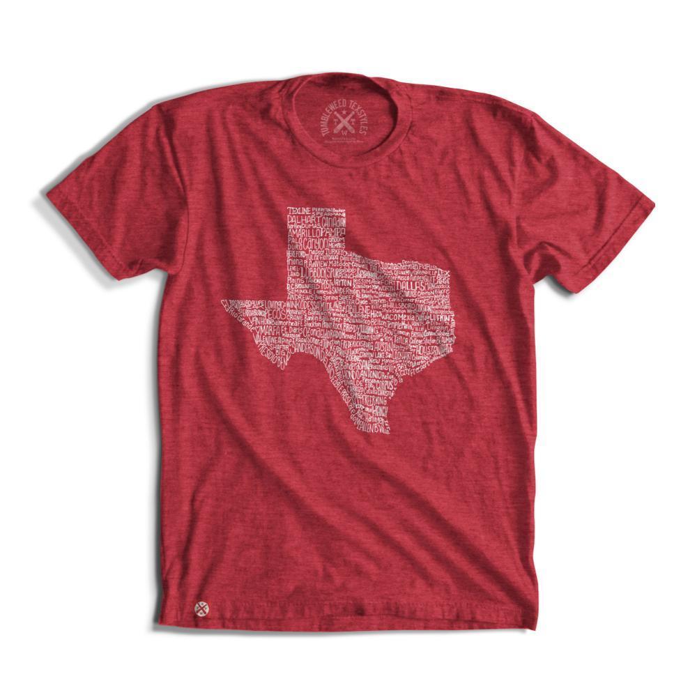 Tumbleweed Texstyles Unisex Texas Towns T- Shirt