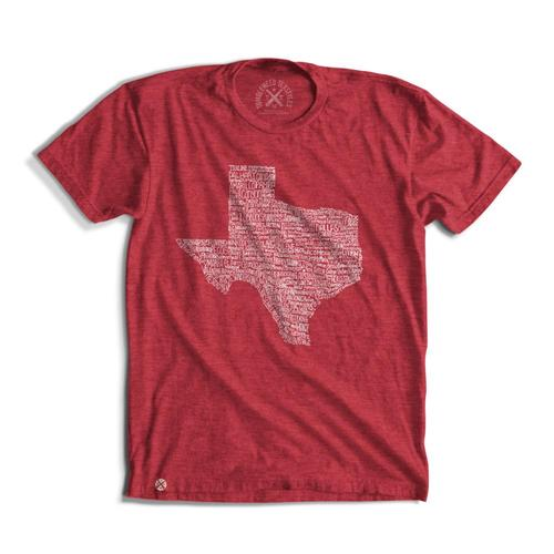 Tumbleweed TexStyles Unisex Texas Towns T-Shirt
