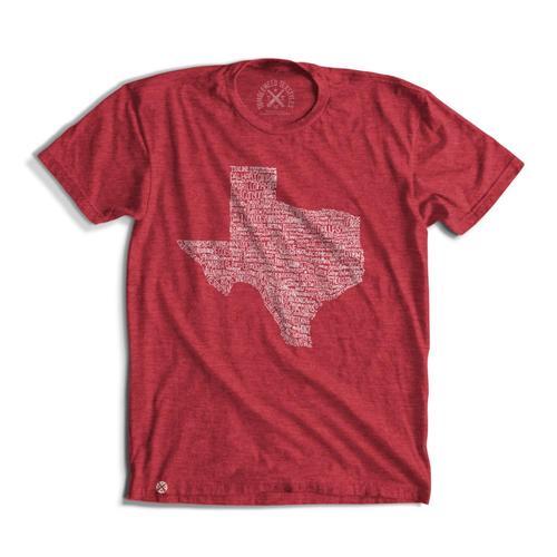 Tumbleweed TexStyles Unixex Texas Towns T-Shirt XXL
