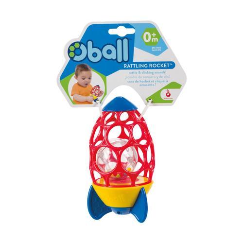 Toysmith Oball Rattling Rocket