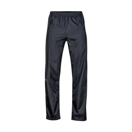 Marmot Men's Precip Full Zip Pant - Short Black_001