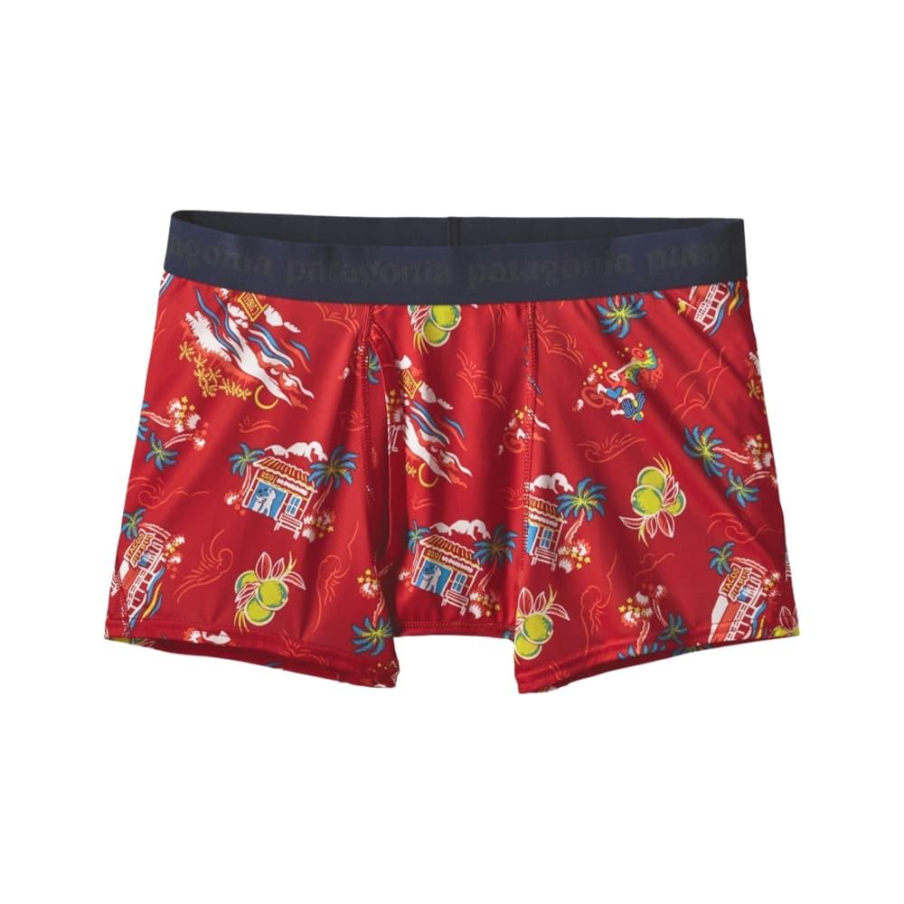 The Patagonia Men's Capilene Daily Boxer Briefs FIRE_CSTF