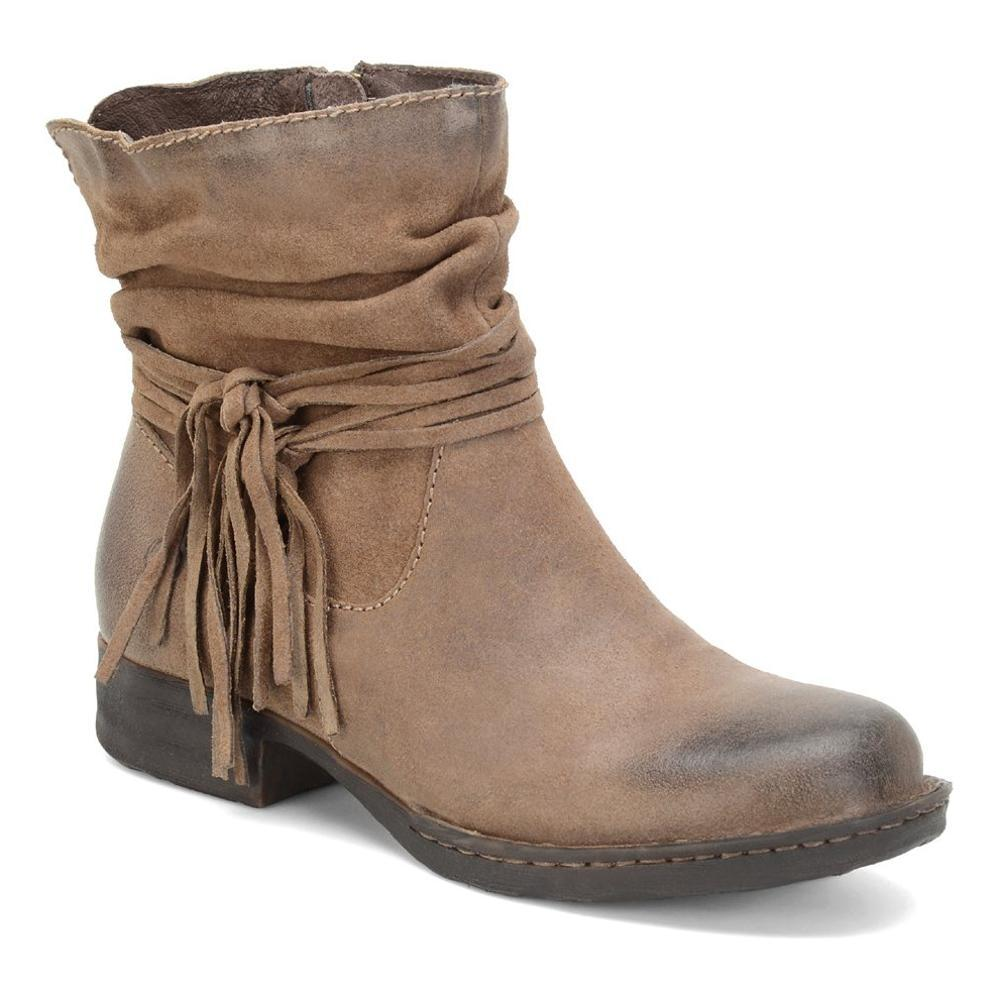 Born Women's Cross Boots TAUPE