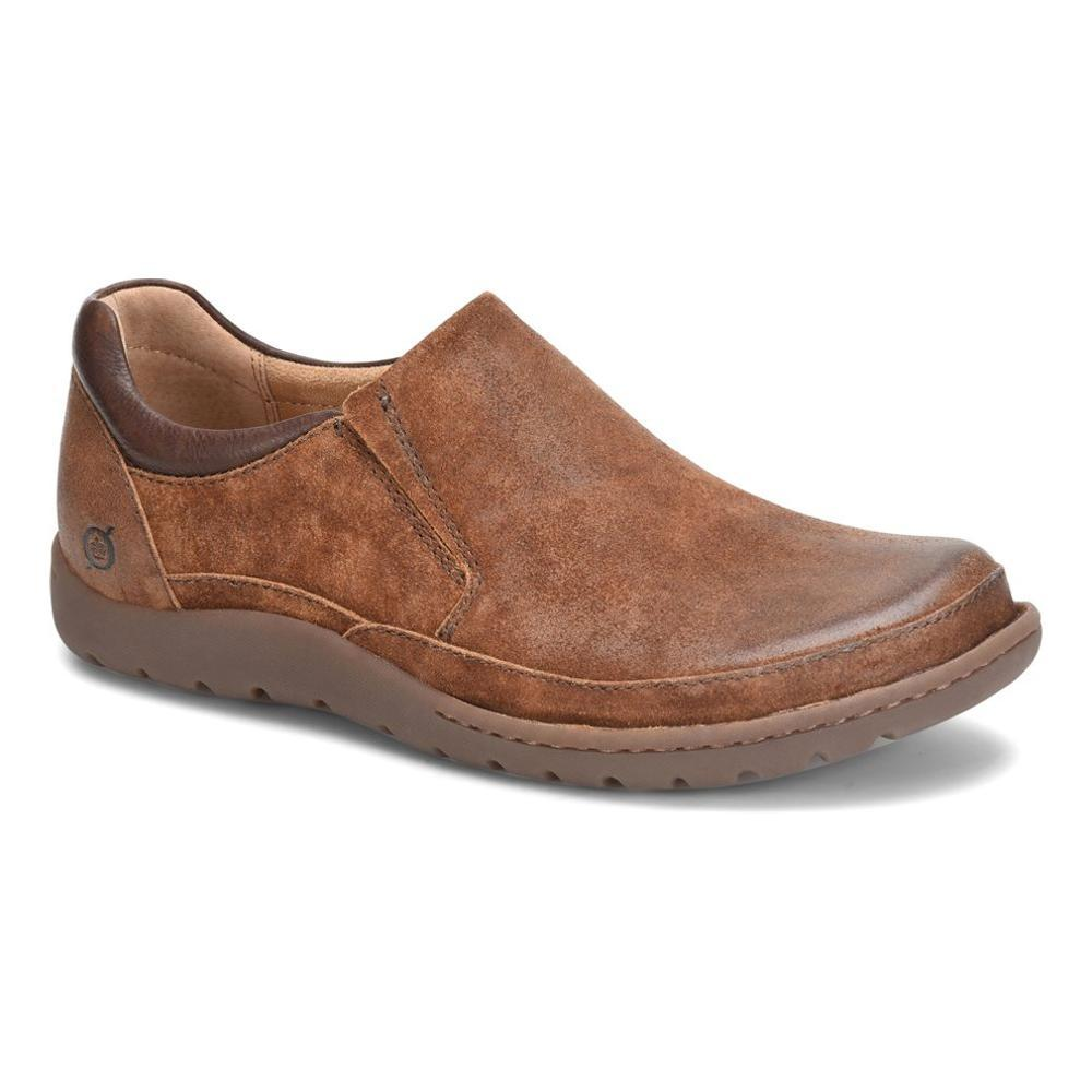 Born Men's Nigel Slip-On Shoes RUST