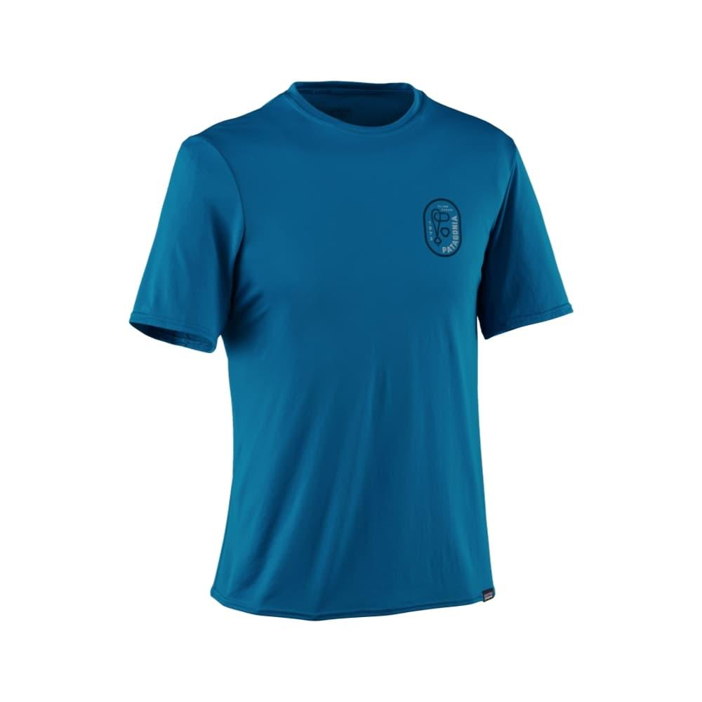 Patagonia Men's Capilene Daily Graphic T-Shirt BBLUE_CRBN