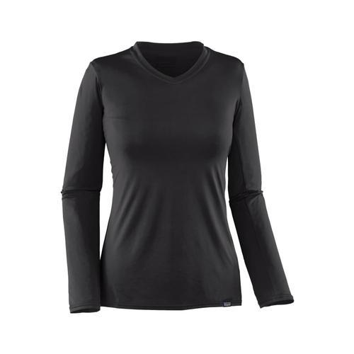 Patagonia Women's Capilene Daily Long-Sleeved T-Shirt Black_blk