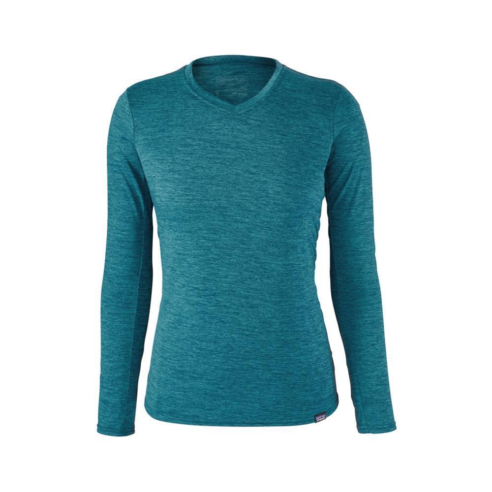 Patagonia Women's Capilene Daily Long-Sleeved T-shirt EBLUE_EWNX
