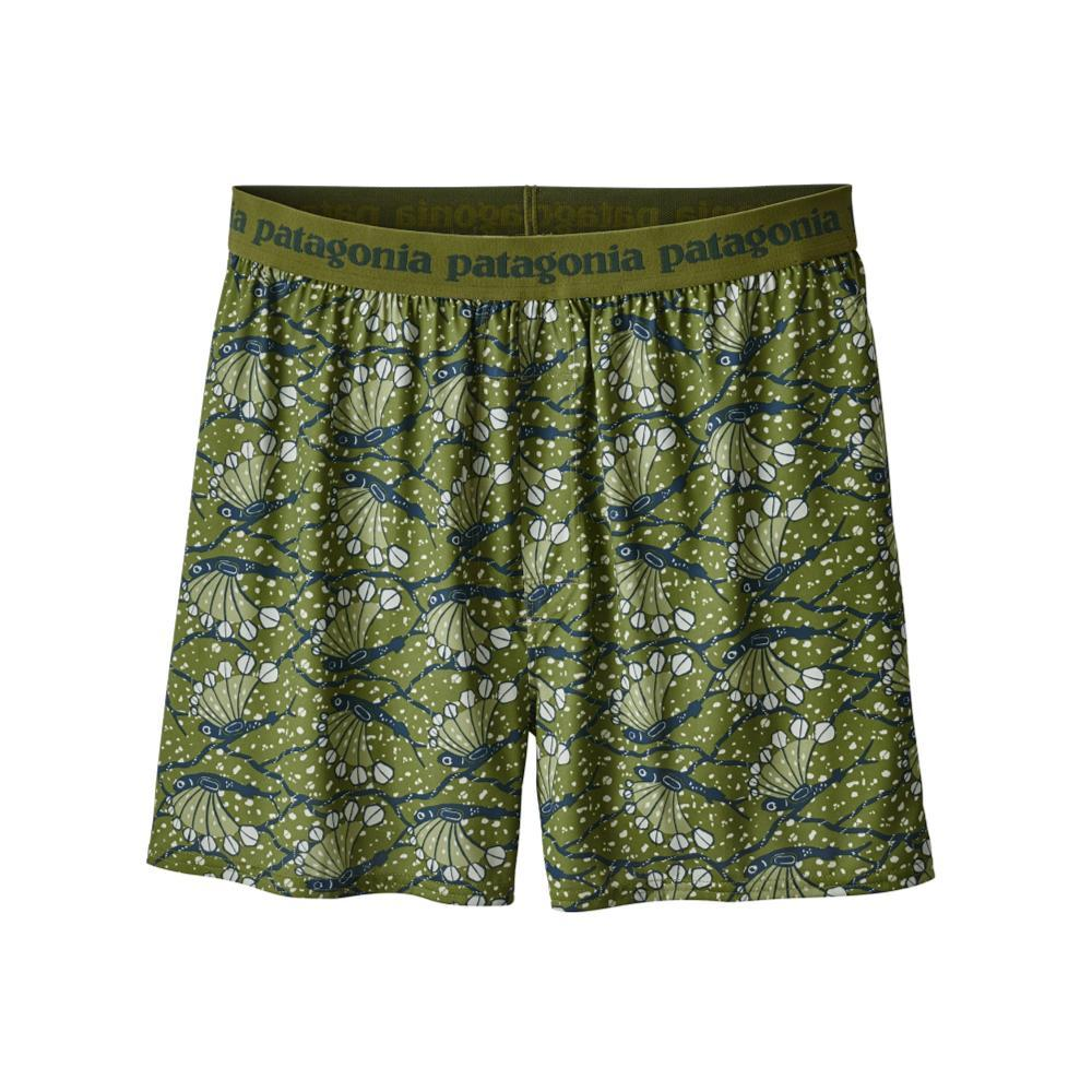 Patagonia Men's Capilene Daily Boxers GREENFSH_HXYS