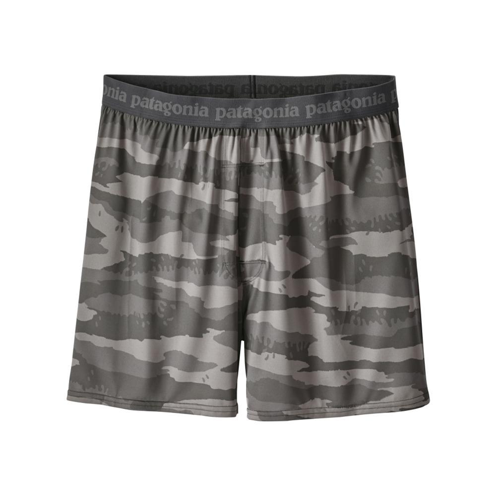 Patagonia Men's Capilene Daily Boxers GREYCAM_ROCH