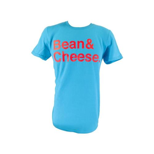 BarbacoApparel Unisex Bean & Cheese Tee Caribblue