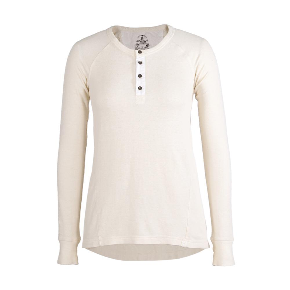 Gramicci Womens Dawn Henly L/S NATURAL