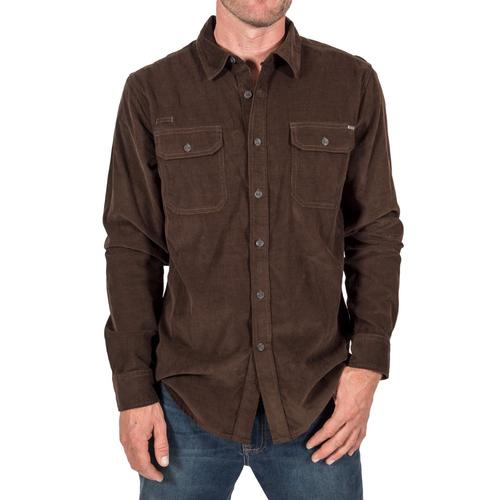 Gramicci Mens' Knock On My Cord Solid Shirt