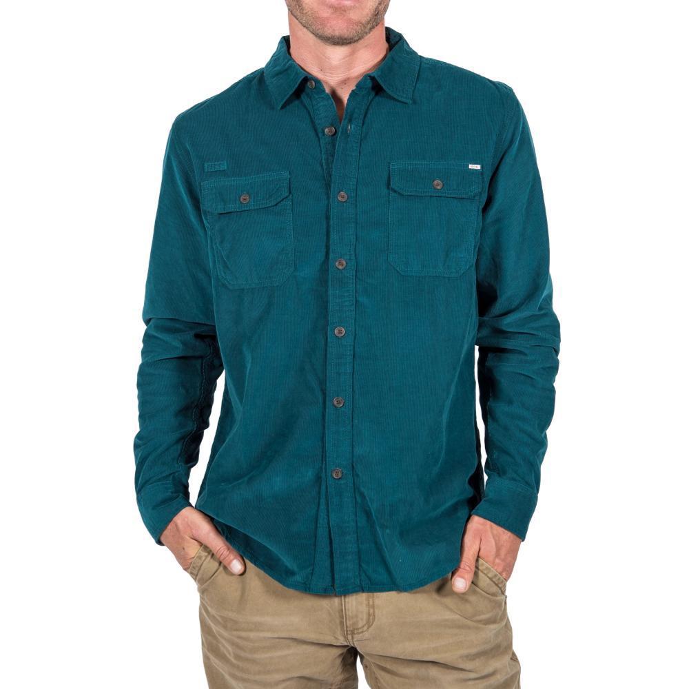 Gramicci Mens' Knock On My Cord Solid Shirt LEGIONBLUE
