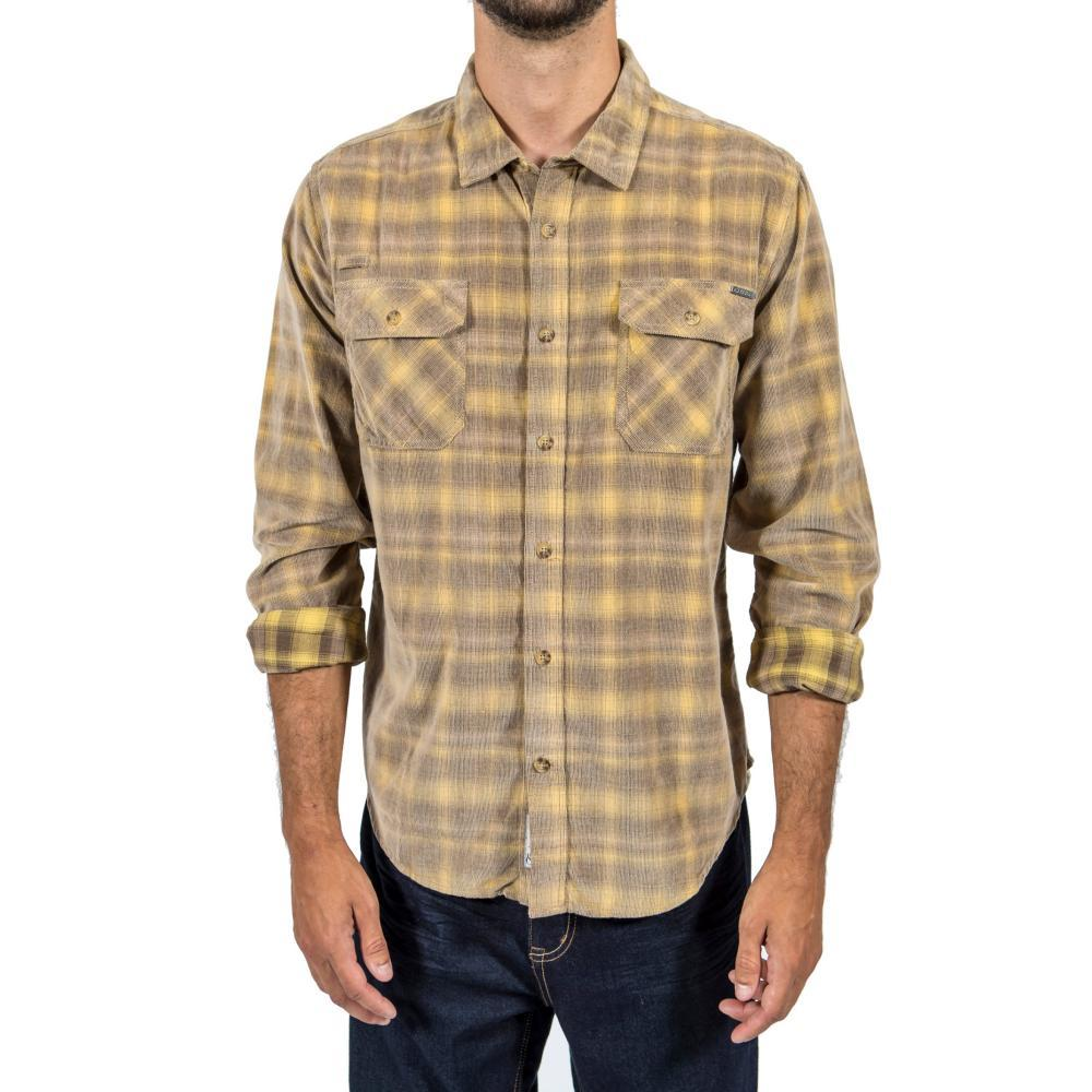 Gramicci Mens' Knock On My Cord Plaid Shirt HAWKEYE