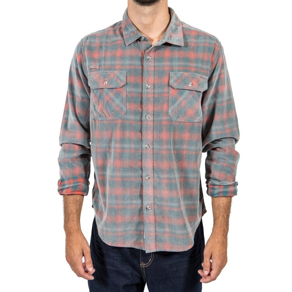 Gramicci Mens' Knock On My Cord Plaid Shirt SEAWARD