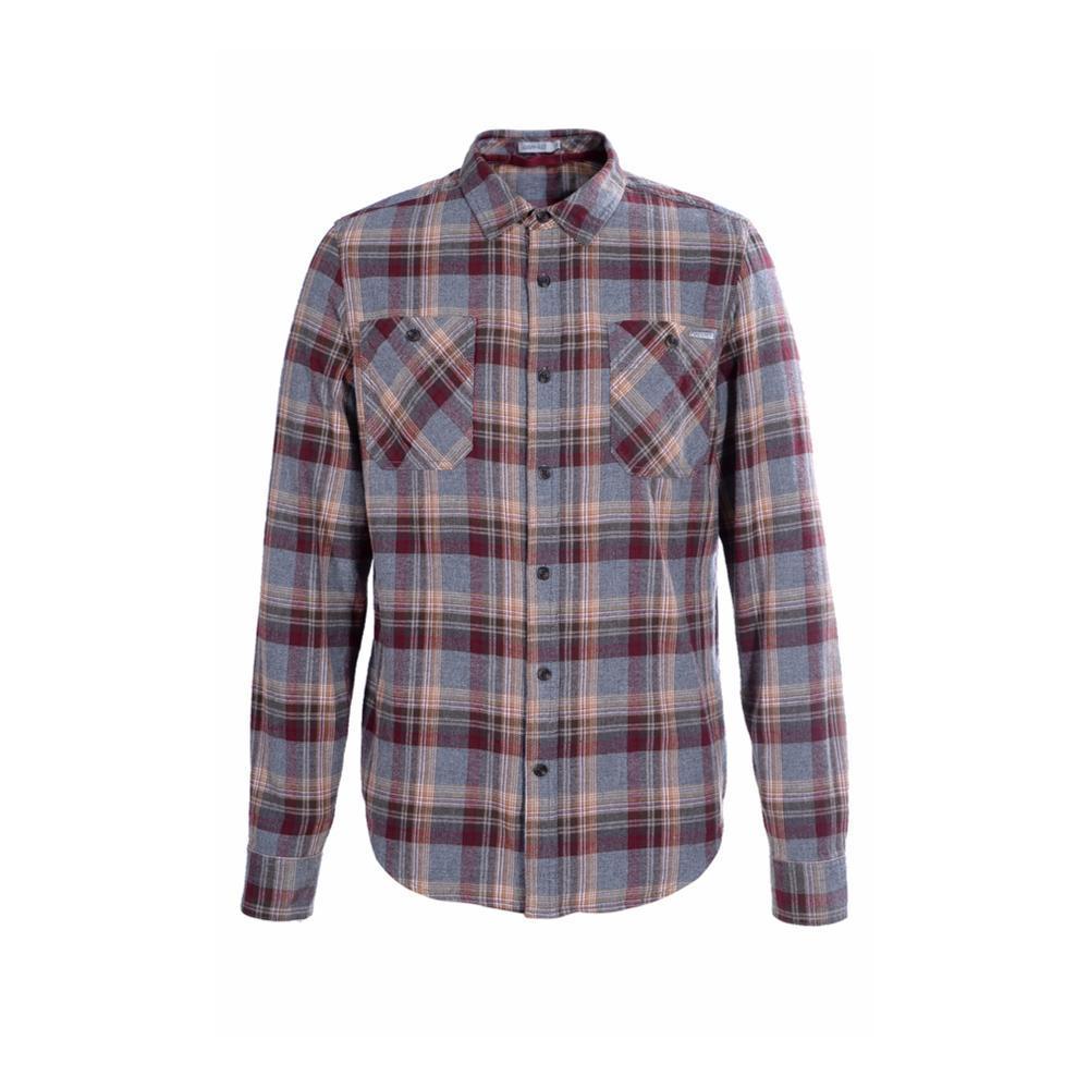 Gramicci Men's General Purpose Flannel Plaid Shirt BLUEABYSS