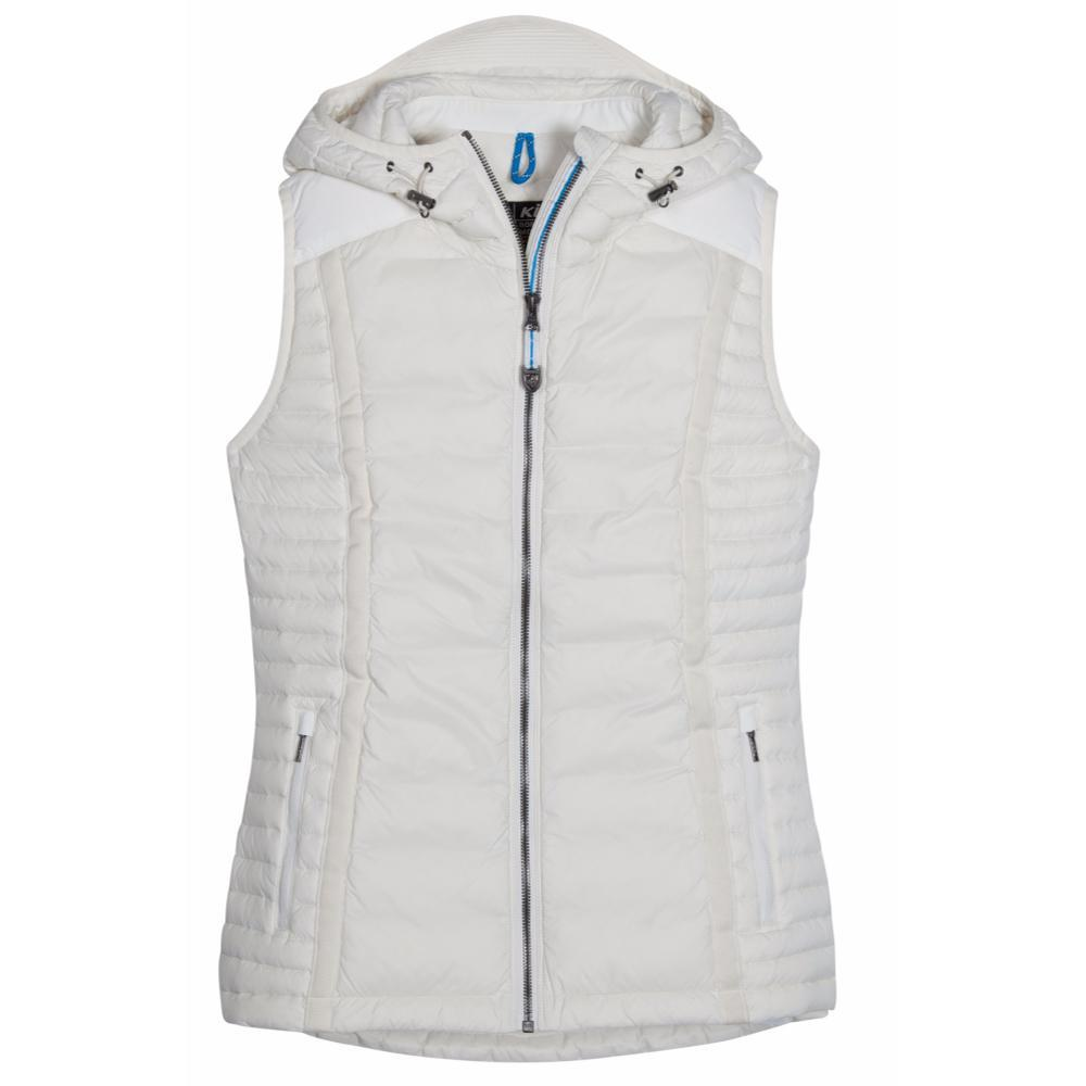 Kuhl Women's Spyfire Hooded Vest IVORY