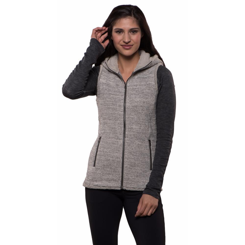 Kuhl Women's Alska Hooded Vest ASH