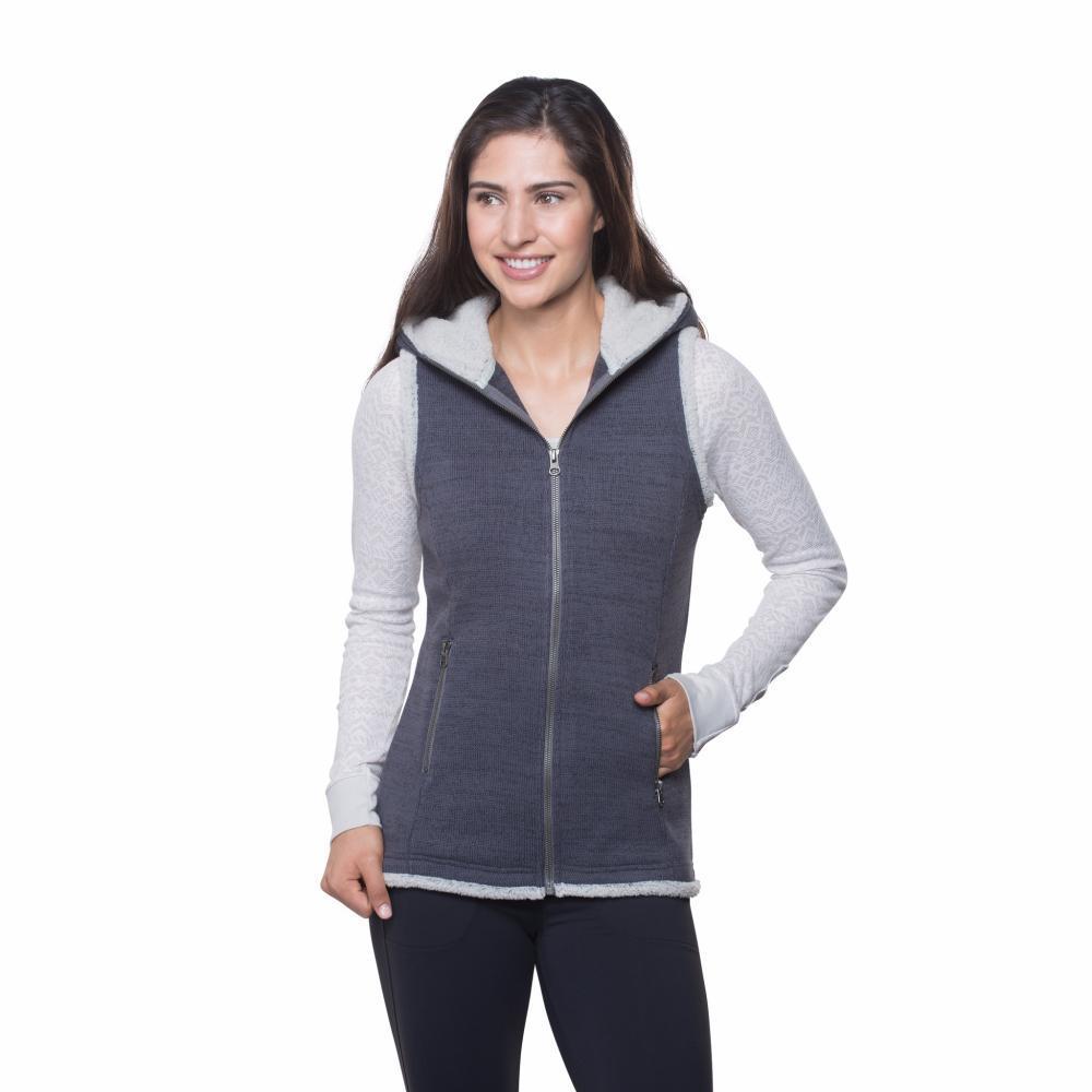Kuhl Women's Alska Hooded Vest PAVEMENT