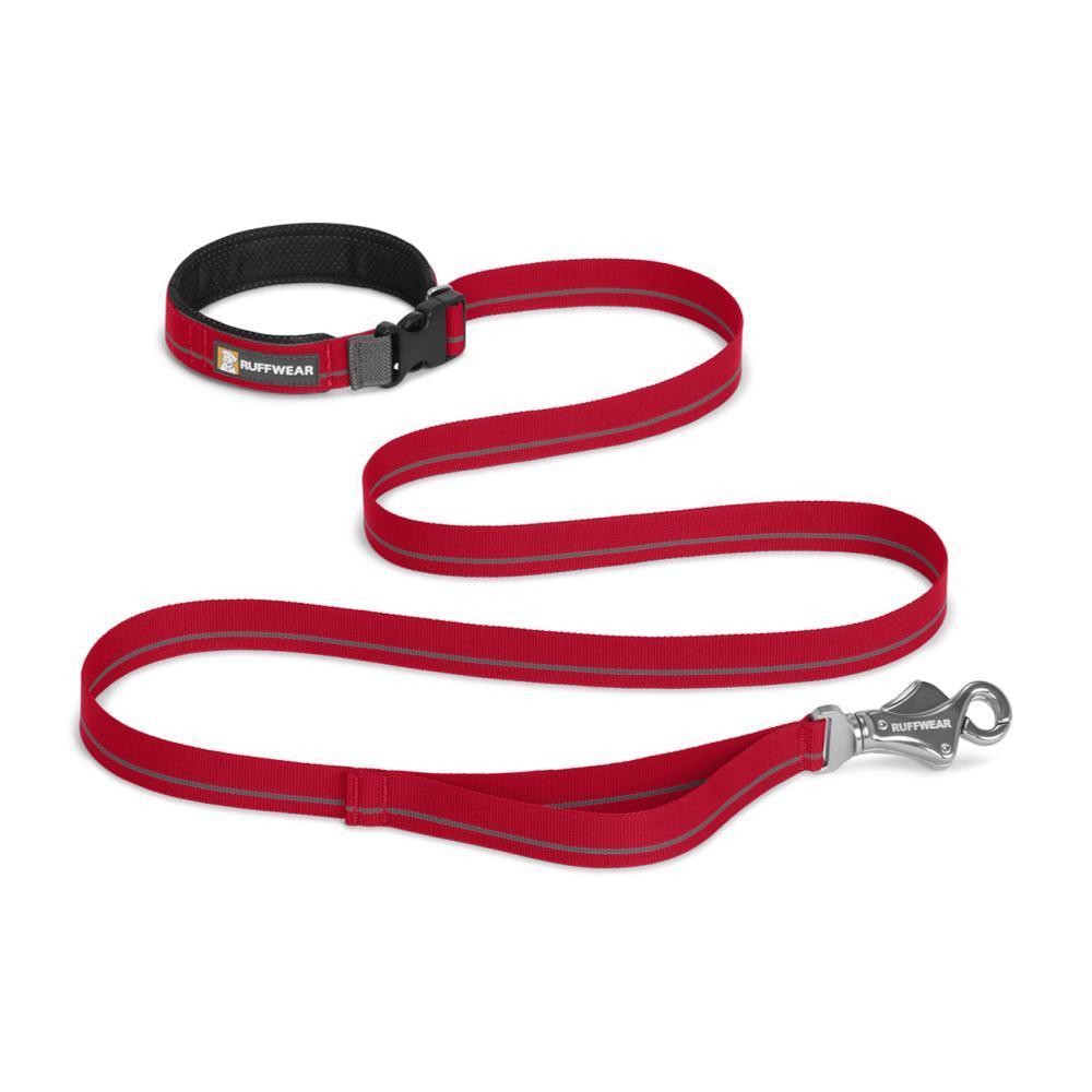 Ruffwear Flat Out Leash RED_CURRANT