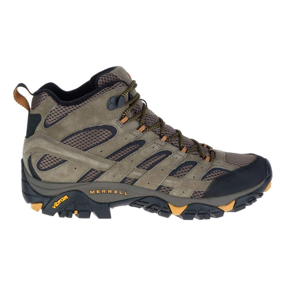 Merrell Mens Moab 2 Vent Mid Hiking Boots WALNUT