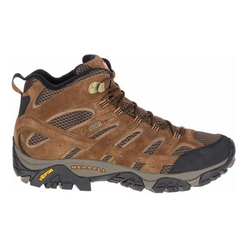 Merrell Men's Moab 2 Waterproof Mid Hiking Shoes Earth