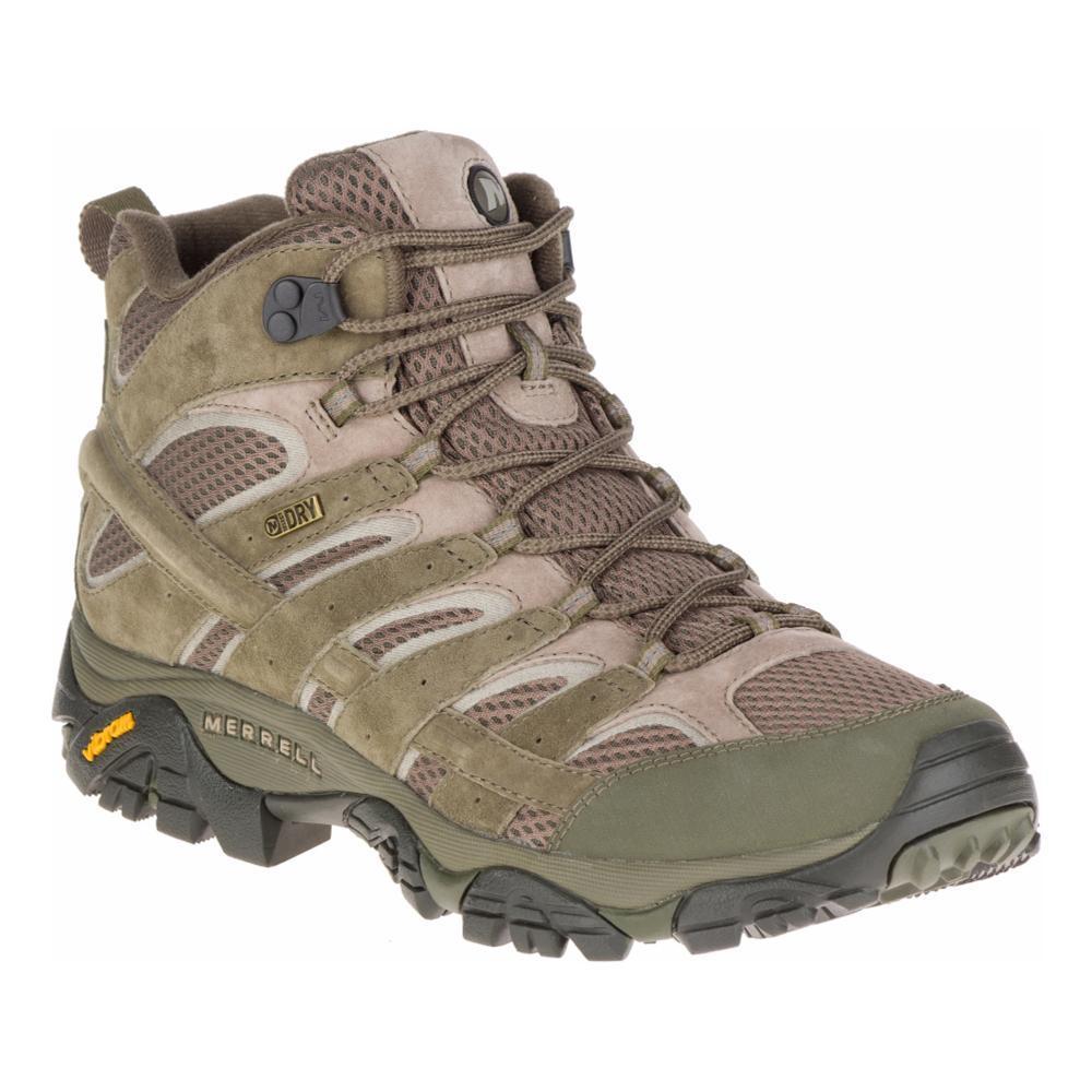 Merrell Men's Moab 2 Mid Waterproof Boots DSTOLIVE