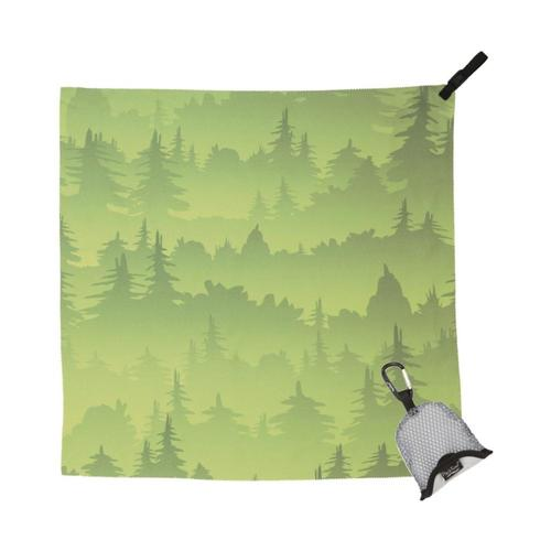 PackTowl Nano Towel Grn_trees