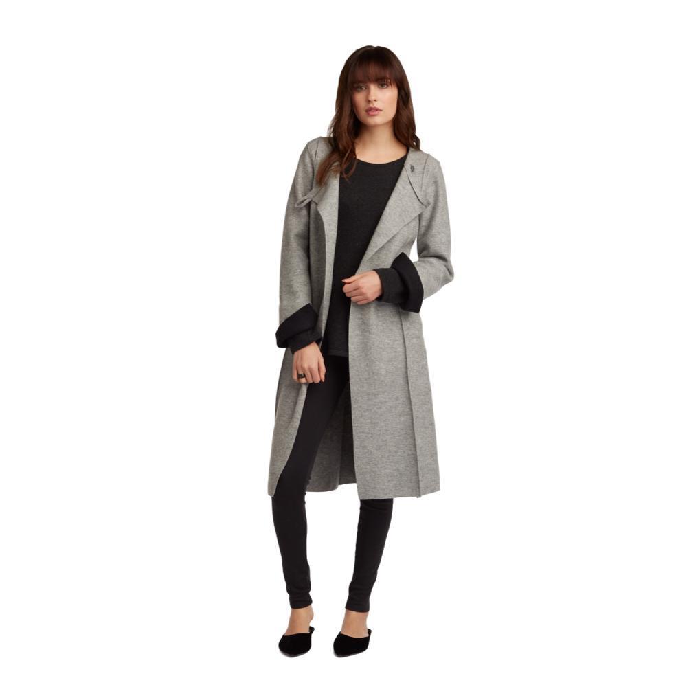 Indigenous Designs Women's Longline Coat SILVER