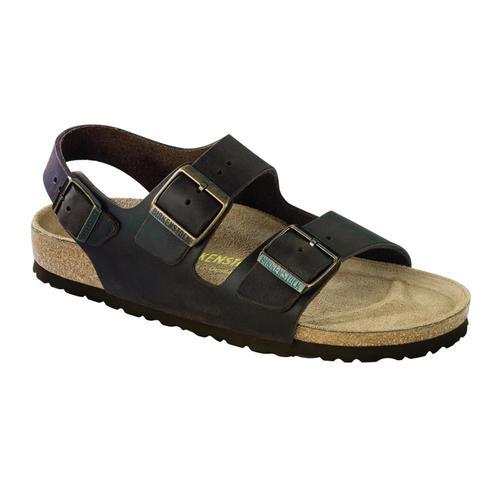 Birkenstock Men's Milano Oiled Leather Sandals