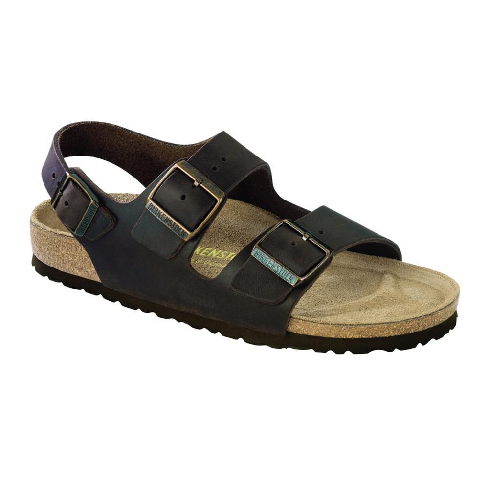 Birkenstock Men's Milano Oiled Leather Sandals HABANA