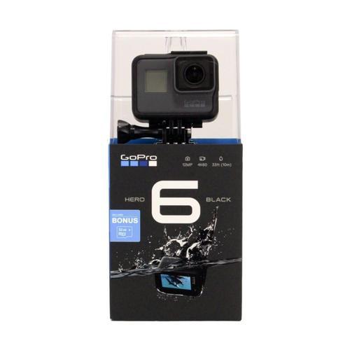 GoPro HERO 6 Black 32GB Card Bundle