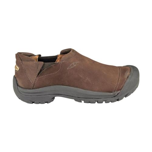 KEEN Men's Ashland Slip On Shoes Choc
