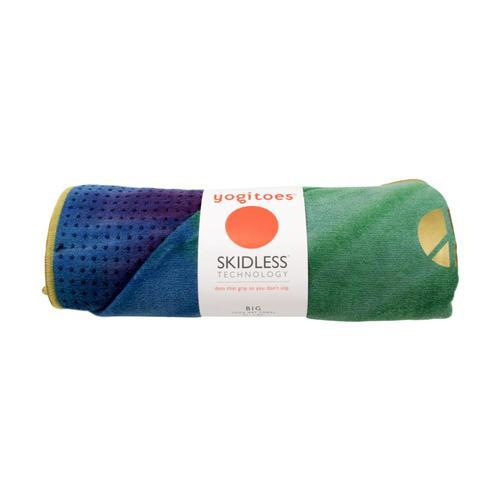Manduka Yogitoes Yoga Towel - Peacock - Long Peacock