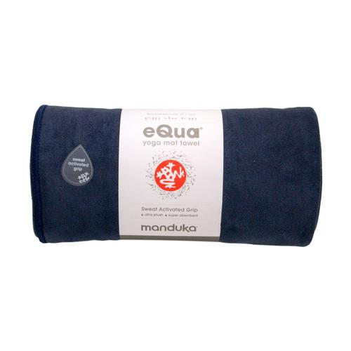 Manduka eQua Yoga Towel - Midnight