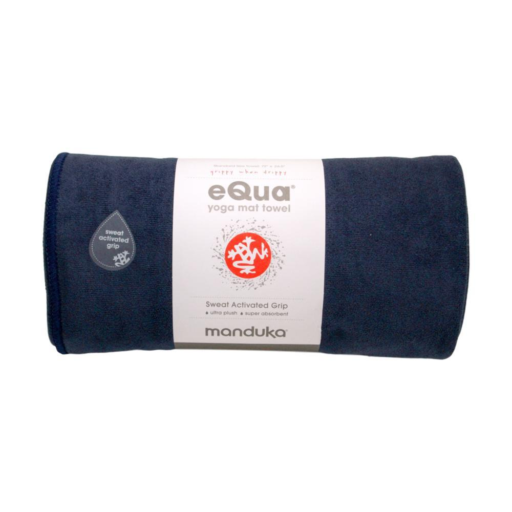 Manduka eQua Yoga Towel - Midnight MIDNIGHT