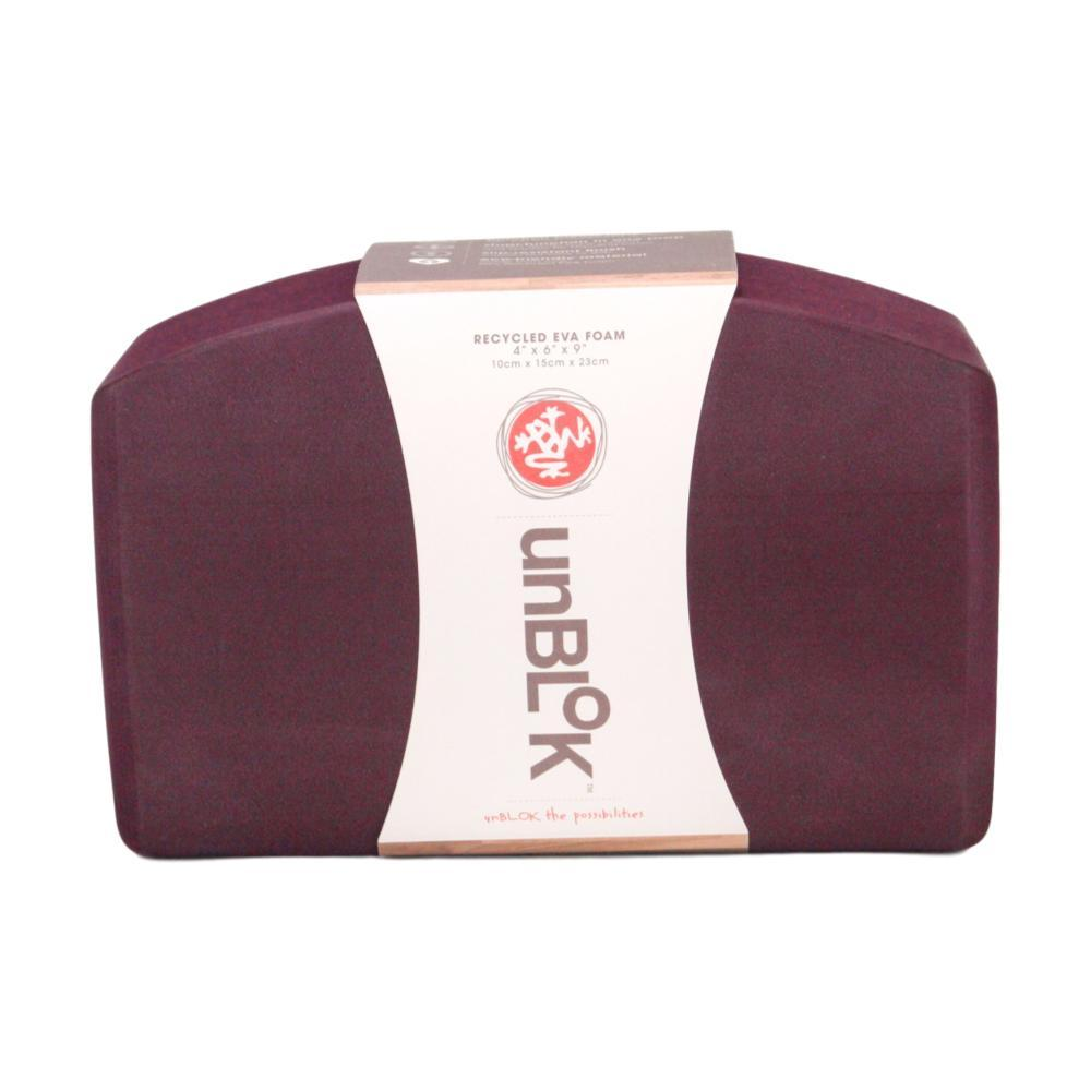 Manduka unBLOK Recycled Foam Yoga Block - Indulge INDULGE