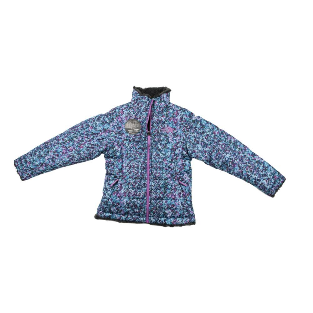 The North Face Girls Reversible Mossbud Swirl Jacket BLUSPNGVMA