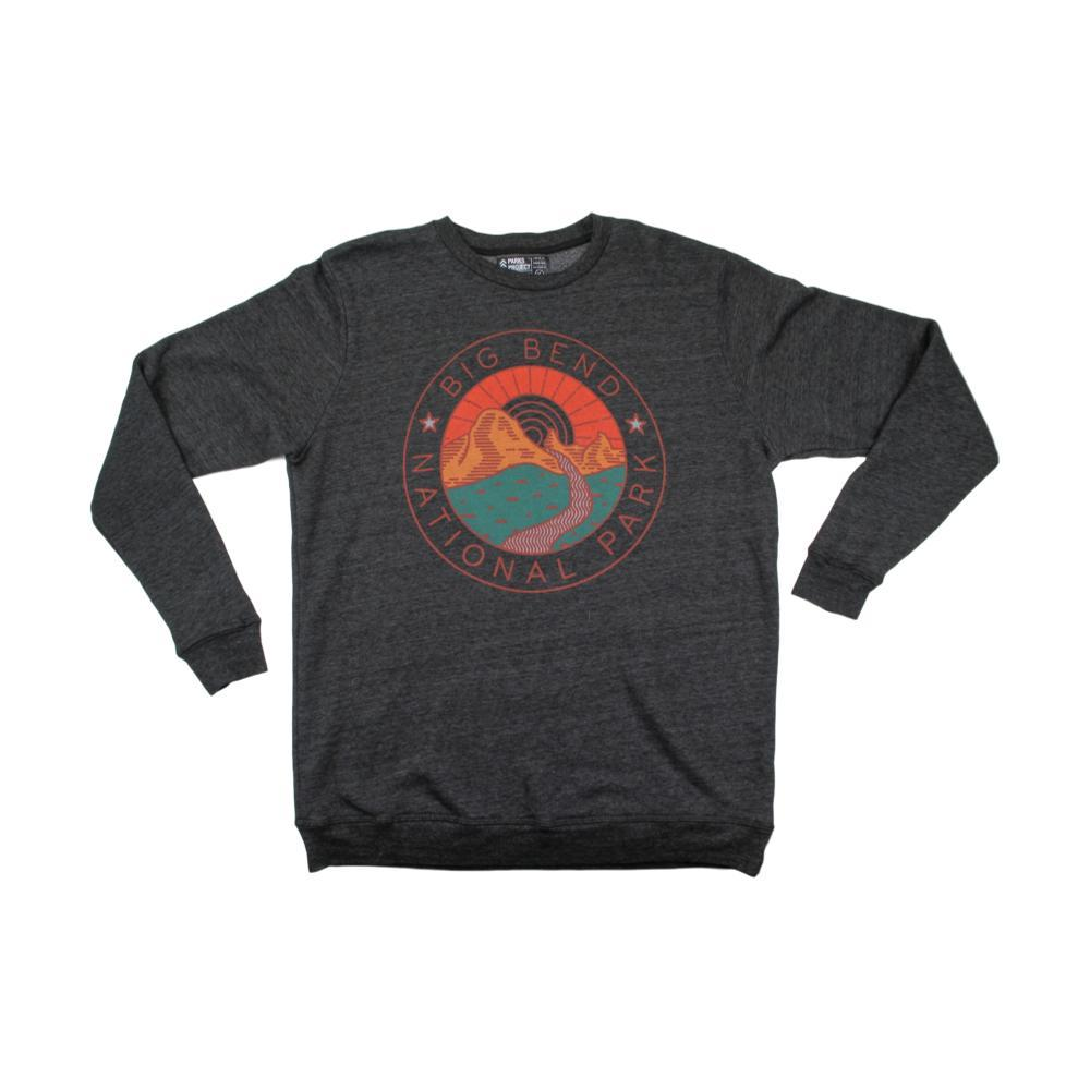 Parks Project Unisex Big Bend Watershed Crew Sweatshirt CHARCOAL