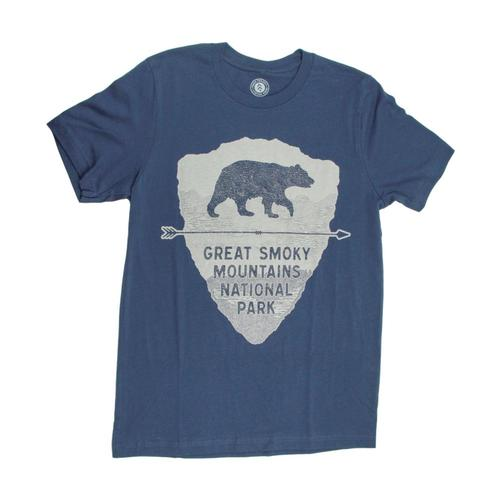 Parks Project Unisex Great Smoky Bear Tee Navy