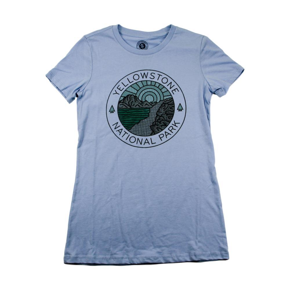Parks Project Women's Yellowstone Lakeside Tee LIGHTBLUE