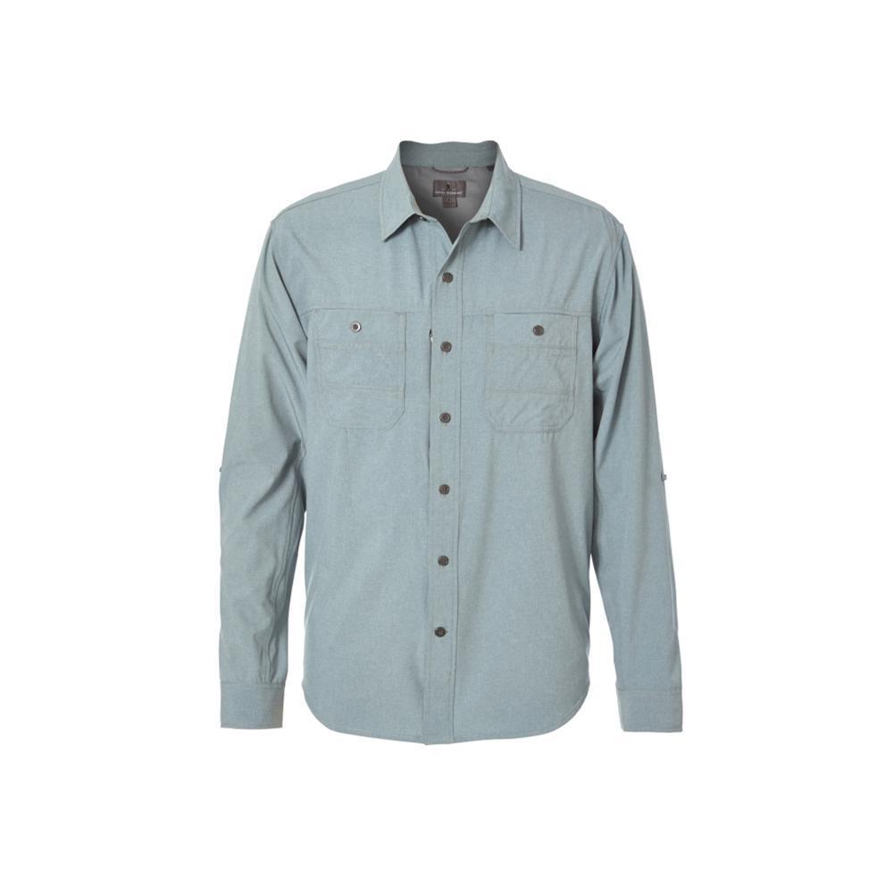 Royal Robbins Men's Long Distance Traveler Long Sleeve Shirt LEAD
